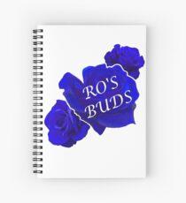 Ro's Buds logo Spiral Notebook