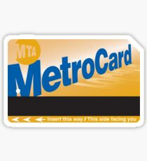 Metro Card Sticker