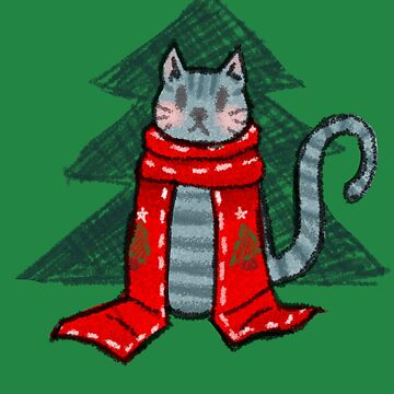 Christmas Cat! by Cassimeme