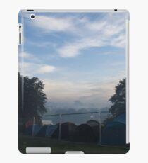 Tranquil mist at a festival iPad Case/Skin