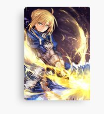 Fate Stay Night Canvas Print