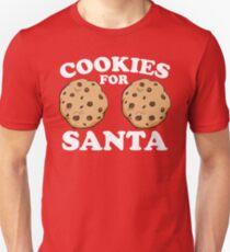 Cookies For Santa T-Shirt