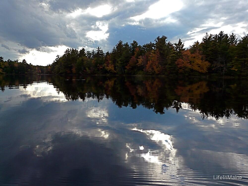 Autumn Sky by LifeInMaine