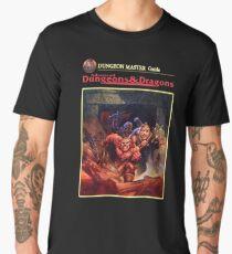 Vintage Dungeons & Dragons DM Rule book (Remastered) Men's Premium T-Shirt