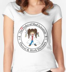 The [dis] Order of Mad Scientists Women's Fitted Scoop T-Shirt