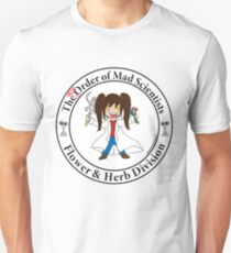 The [dis] Order of Mad Scientists Unisex T-Shirt