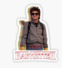 Steve The Babysitter - Stranger Things Sticker