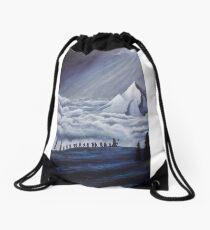 Lonely Mountain Drawstring Bag