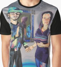 Humans in the Visionary Age Graphic T-Shirt
