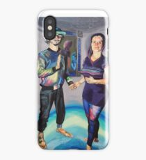 Humans in the Visionary Age iPhone Case