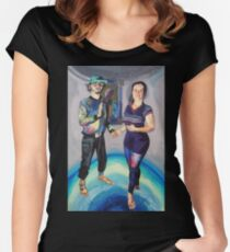 Humans in the Visionary Age Women's Fitted Scoop T-Shirt