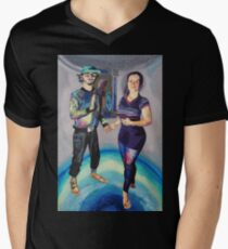 Humans in the Visionary Age Men's V-Neck T-Shirt