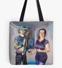 Humans in the Visionary Age Tote Bag