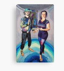 Humans in the Visionary Age Canvas Print