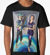Humans in the Visionary Age Long T-Shirt