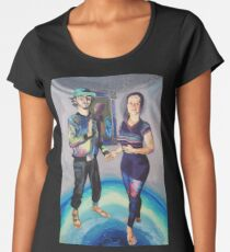 Humans in the Visionary Age Women's Premium T-Shirt