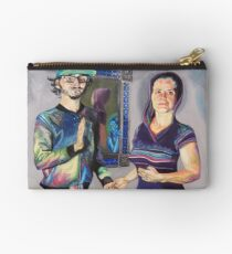 Humans in the Visionary Age Studio Pouch