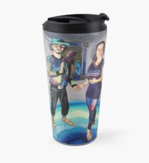 Humans in the Visionary Age Travel Mug
