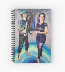 Humans in the Visionary Age Spiral Notebook