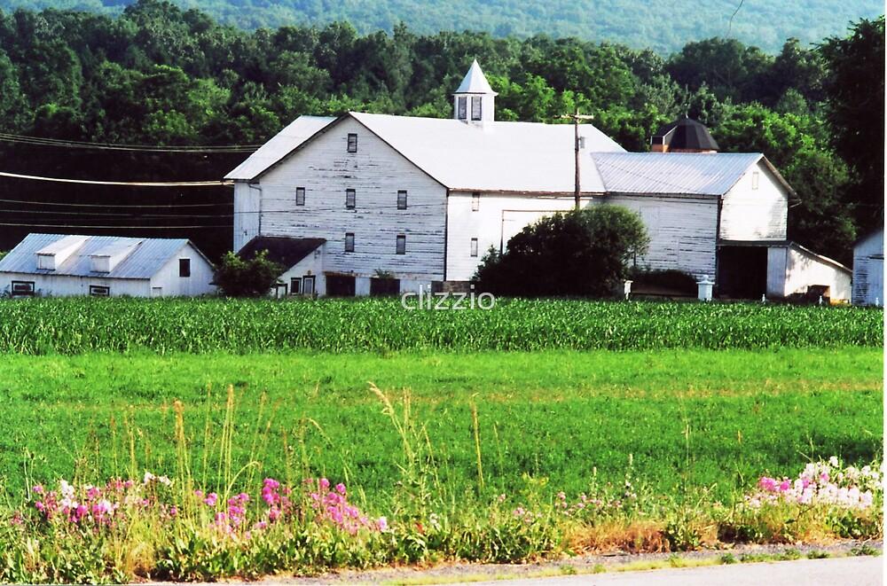 Pennsylvania Farm by clizzio
