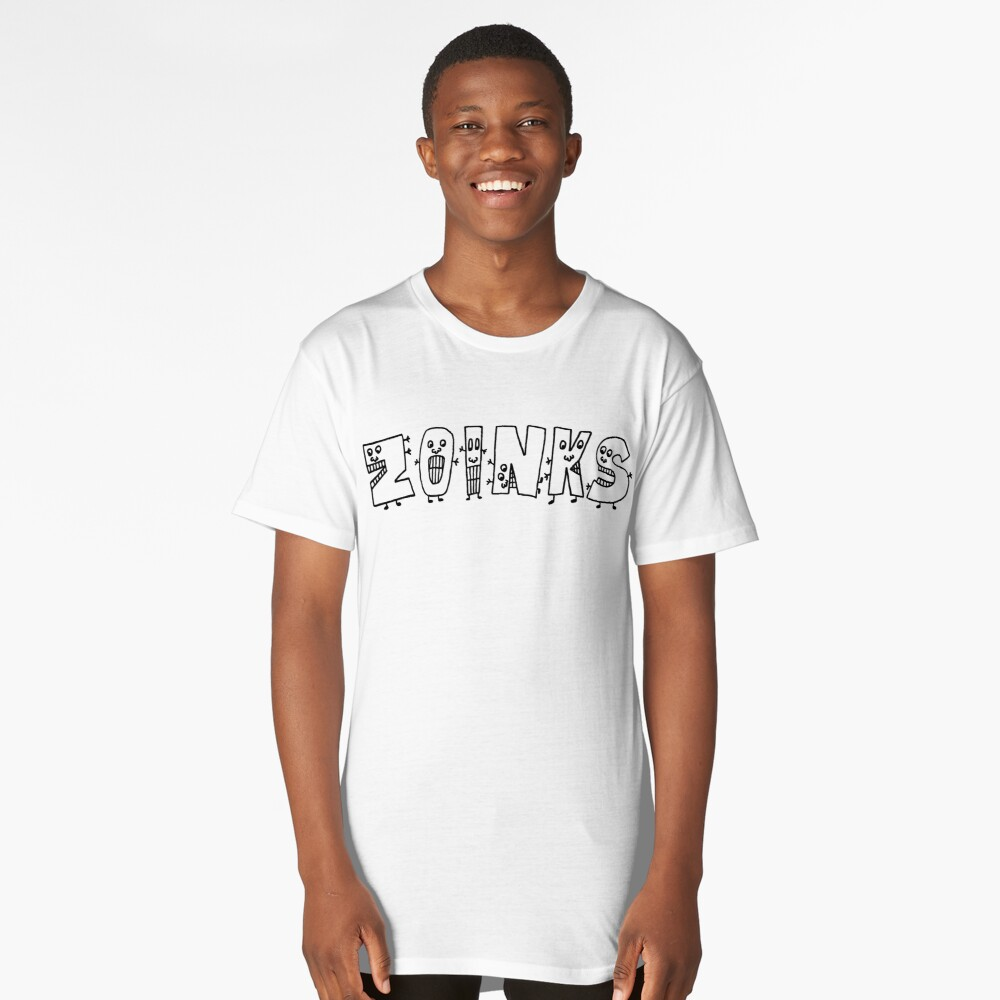 ZOINKS  -  Character Text Long T-Shirt Front