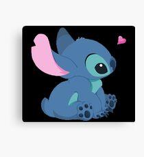 Stitch Fanart: Cute and Fluffy Canvas Print