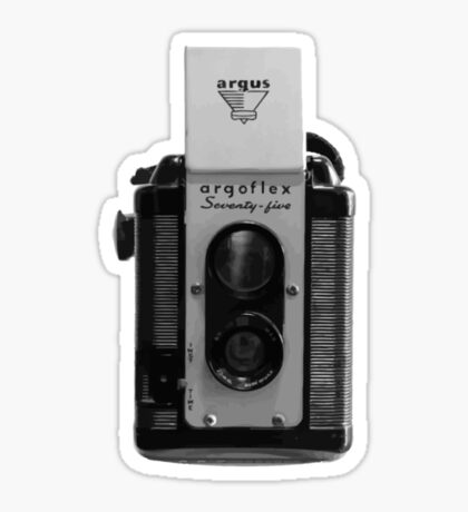 Argus Argoflex Seventy-five - Vector Sticker