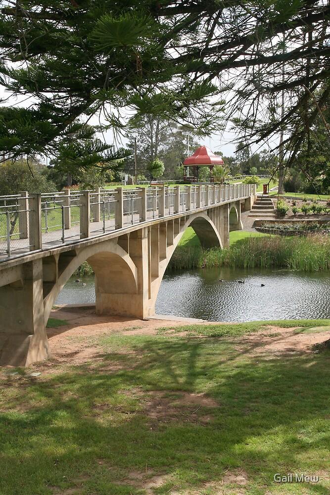 """The Children's Bridge, Strathalbyn"""" by Gail Mew"""