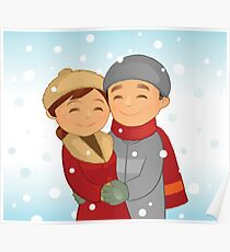 Snow Lovers Poster