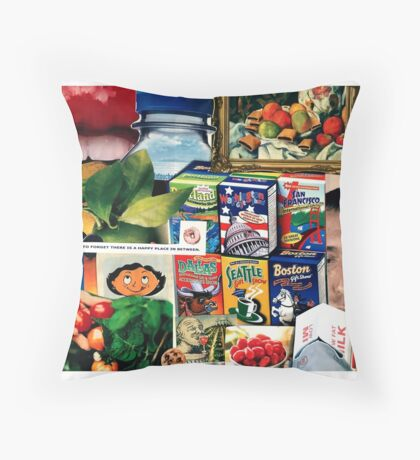 Plant Happiness Throw Pillow