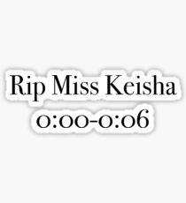 Fräulein Keisha Sticker
