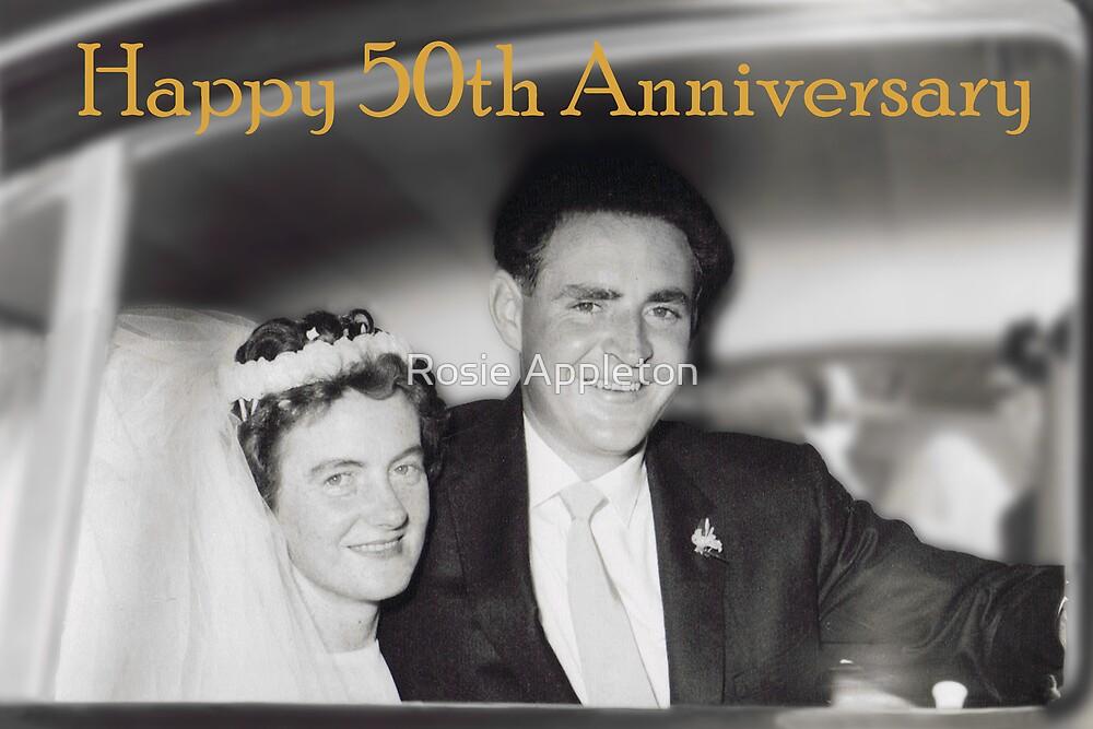 Mary & David ♥ 10/01/1959 by Rosie Appleton