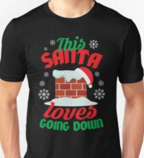 This Santa Loves Going Down T-Shirt