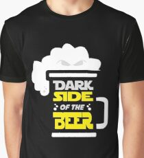 Dark side of the beer! Graphic T-Shirt