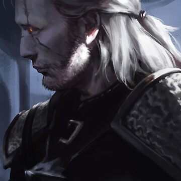 Geralt of Rivia by feredir