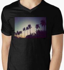 florida palms Mens V-Neck T-Shirt