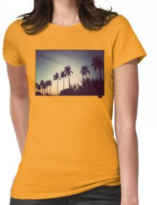florida palms Womens Fitted T-Shirt