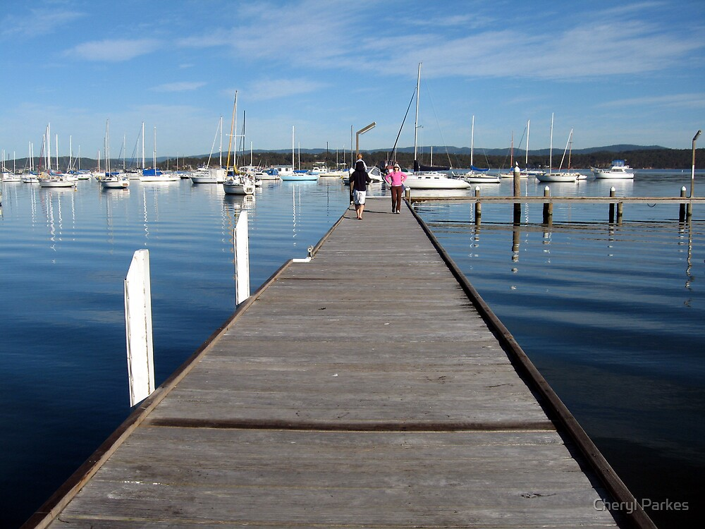 Valentine Jetty by Cheryl Parkes