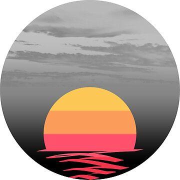 Vague Sunset by pamelahoward