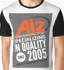 Specializing Quality Grey Graphic T-Shirt