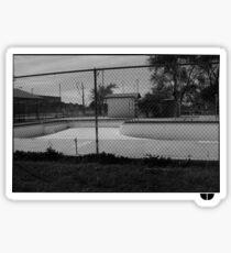 Skate pool Sticker