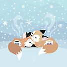 Winter Warmth - Mugs by kieutiepie