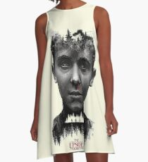 stranger things the upside down A-Line Dress