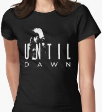 Until Dawn Advertising Women's Fitted T-Shirt