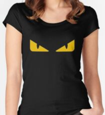 eyes of Fendi Monster Women's Fitted Scoop T-Shirt