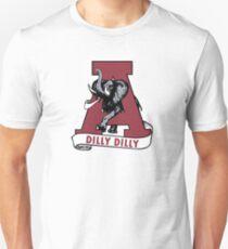 DILLY DILLY ALABAMA T-SHIRT Crimson Tide football BUD LIGHT  T-Shirt