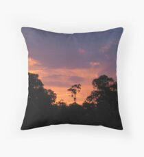 The Lone Gum Throw Pillow