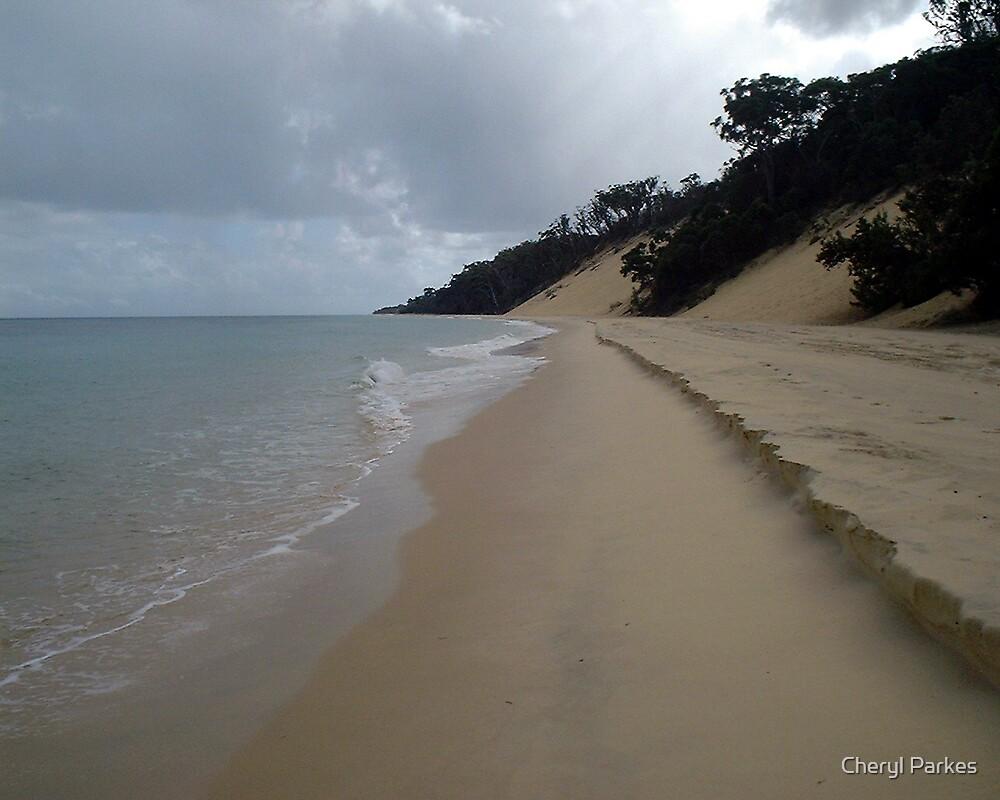 Lonely Beach by Cheryl Parkes