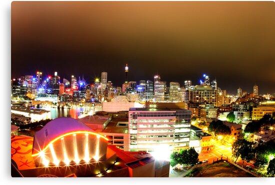 Sydney @ Night by steen