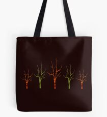 Red Tree Green Tree Tote Bag